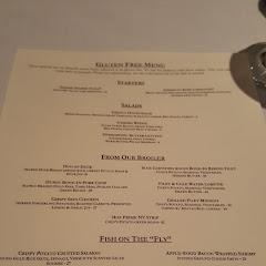 GF menu at Firefly