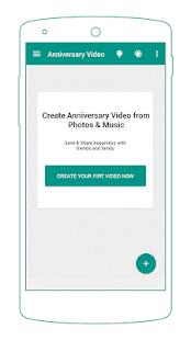 Anniversary Video Maker APK for Bluestacks