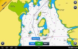 Screenshot of Boating