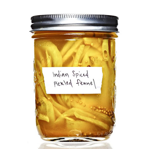 Indian-Spiced Fennel Pickles