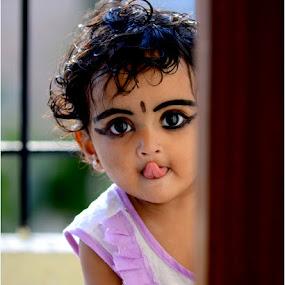neeru...... by Roopesh Anjumana - Babies & Children Child Portraits