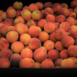 Peaches by Priscilla Renda McDaniel - Food & Drink Fruits & Vegetables ( alot, fruit, aromatic, fresh, delicious, bunch, peaches, georgia peach )