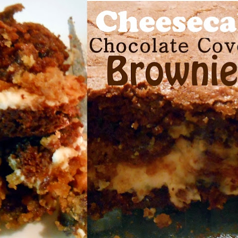Cheesecake Cookie Chocolate Covered Pretzel Brownies