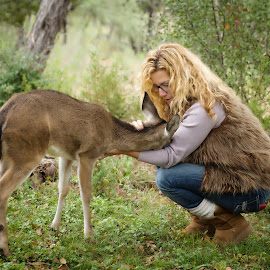 I'm a Deer rehab-er too by Kelley Hurwitz Ahr - People Street & Candids