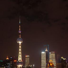 Shanghai by Nikos Pa - Travel Locations Landmarks
