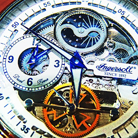 Ingersoll Watch by Tiahn Anneliese - Artistic Objects Jewelry