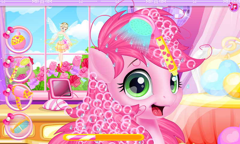 android Baby pony grooming makeover Screenshot 14