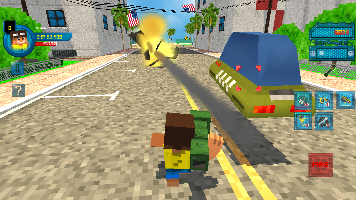 Block City Rampage Screenshot 1