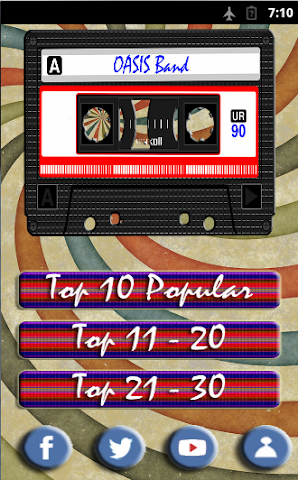 android Oasis Band top songs Screenshot 0