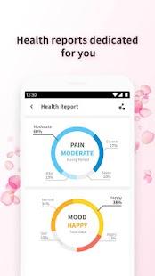 Period Tracker Rosa - Menstrual Cycle & Calendar