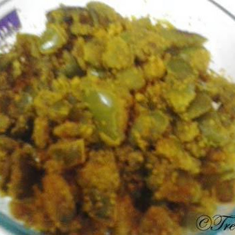 Capsicum Fry Curry