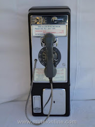 Single Slot Payphones - NY Tel Suffolk Cty 1C loc UP4 1