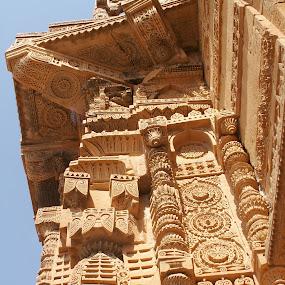 TOMB, Pakistan by FARAZ AHMED RAJAR - Buildings & Architecture Architectural Detail ( pakistan, nizámuddín, famous, tomb, sultan, jám, thatta, sindh, samo )