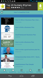 Small Business Ideas - screenshot