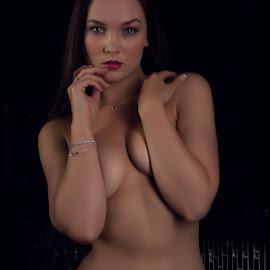 Sensual Beauty by Jasper Van Zyl - Nudes & Boudoir Artistic Nude ( glamour, model, nude, lingerie, woman, brunette )