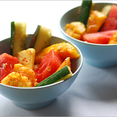 Mexican Fruit Salad with Chili Powder