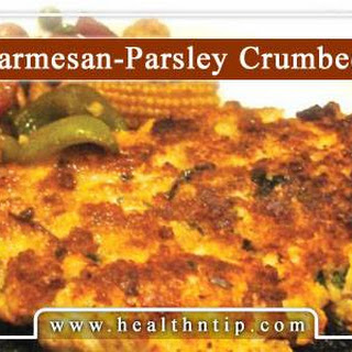 Parsley and Parmesan Crumbed Chicken