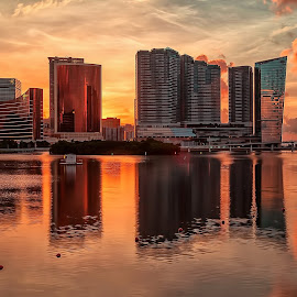 Casino sunrise by Bernard Go - City,  Street & Park  Skylines