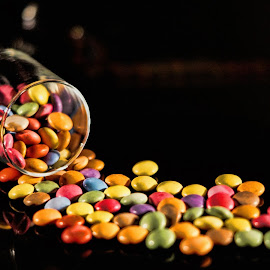 by Chris Stallwood - Food & Drink Candy & Dessert ( sweet, sweets, colorful, candy, smarties )