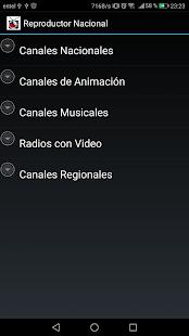 Reproductor TV Chilena