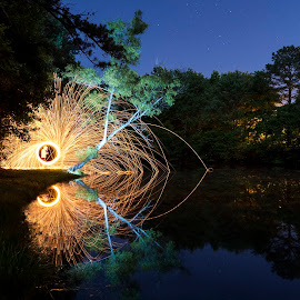 by Sean Touton - Abstract Light Painting