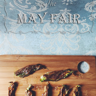 Mozzarella Stuffed Squash Blossoms Recipes