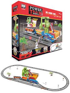 """Поезд серии """"Город Игр"""", железная дорога L, грузовой"""