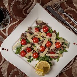 Food by Ewald Gruescu - Food & Drink Plated Food ( gruescu, nikon, sigma, ewald, foodporn, 50mm, restaurant, meat, plate, photography, food, wine )