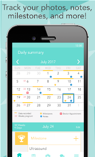 Free Ovia Pregnancy Tracker & Baby Countdown Calendar APK for Windows 8