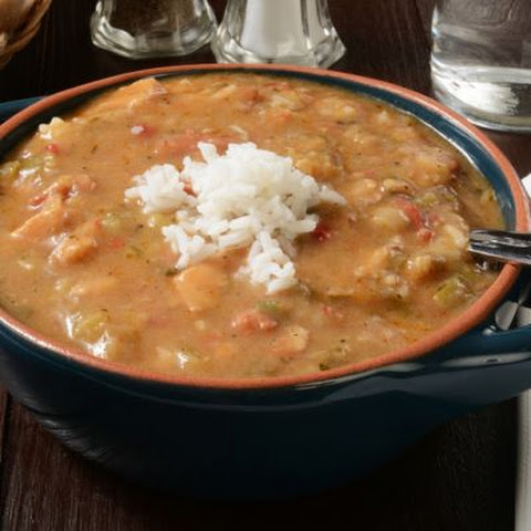 Heavenly Chicken and Smoked Sausage Gumbo