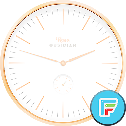 Rosa watch face by Obsidian