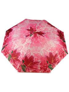 "Зонт ""Компакт S"", бордово-малиновый"