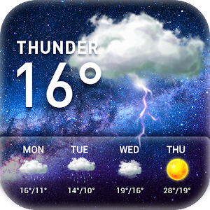 World weather widget&Forecast For PC / Windows 7/8/10 / Mac – Free Download
