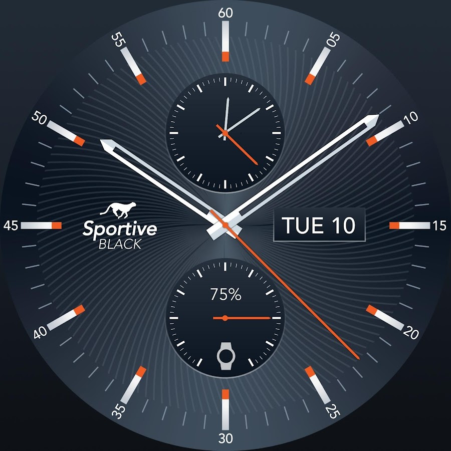 Sportive Watch Face Screenshot 4