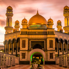 Mosque @dawn by Laxminarayan Channa - Buildings & Architecture Places of Worship