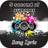 Download Android App 5 Second Of Summer Song Lyric for Samsung