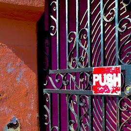 Push by Eirin Hansen - Buildings & Architecture Architectural Detail