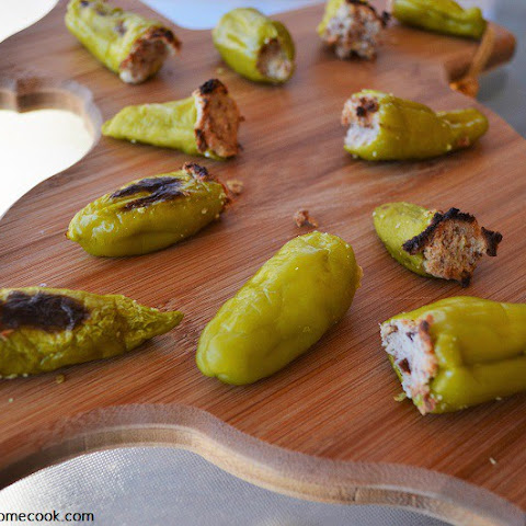 Vegan Stuffed Pepperoncini Peppers