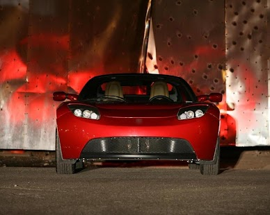 Wallpapers Tesla Roadster - screenshot