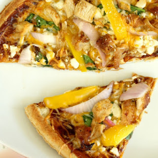 Barbecue Chicken Fajita Pizza