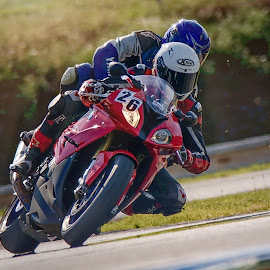 Tandem by Jiri Cetkovsky - Sports & Fitness Motorsports ( brno, racing, masaryk circuit, motorcycle, trip )