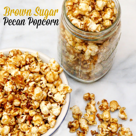 Brown Sugar Pecan Popcorn