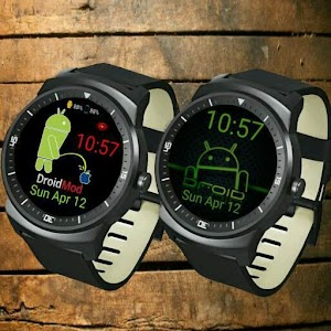 Droid Power watch face