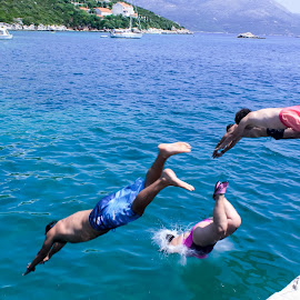 Swimmers by Adrian Dobre - Sports & Fitness Swimming ( water, swimming,  )