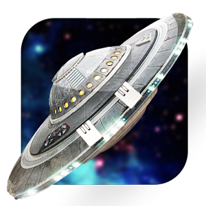 UFO Space 3D Live Wallpaper
