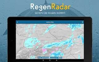 Screenshot of RegenRadar