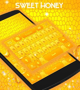 Sweet Honey Keyboard - screenshot