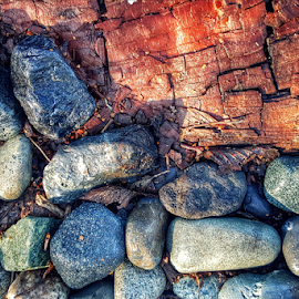 juxtaposition  by Todd Reynolds - Nature Up Close Rock & Stone