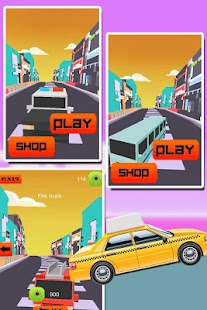 Rocky Road Taxi Dash 3D - screenshot