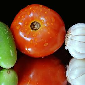 Big tomato  by SANGEETA MENA  - Food & Drink Ingredients